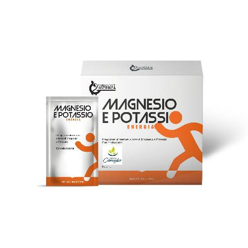 Magnesio e Potassio Energia...